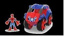 Человек-Паук на транспортном средстве