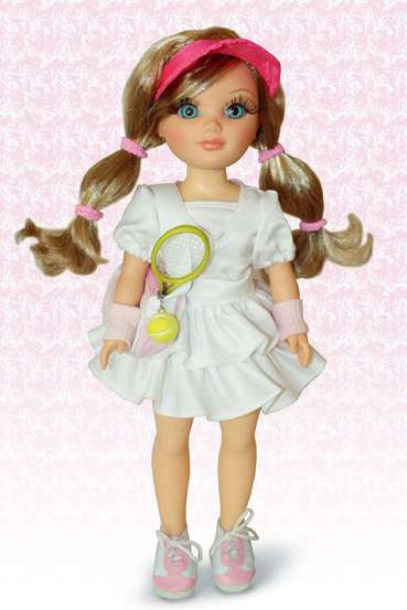 Кукла Анастасия (Теннис)