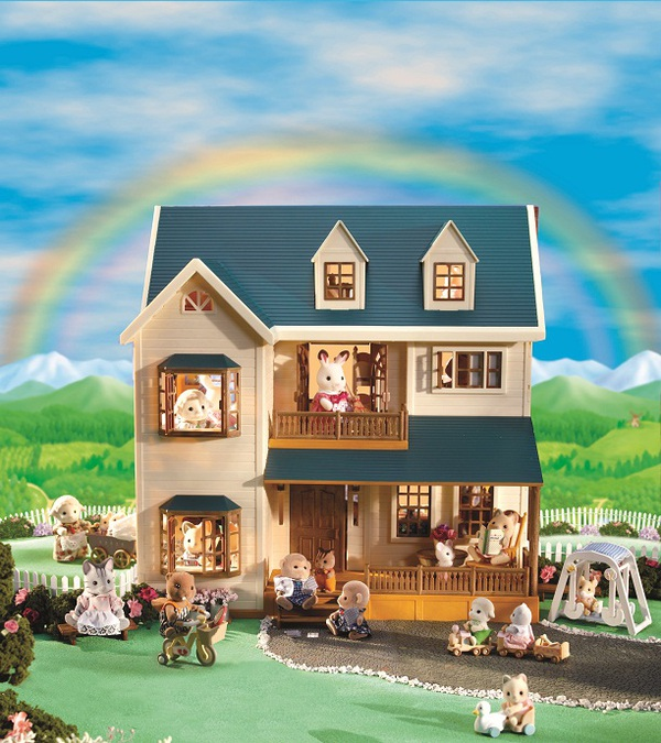 "Набор Sylvanian Families ""Дом с мансардой Deluxe"""