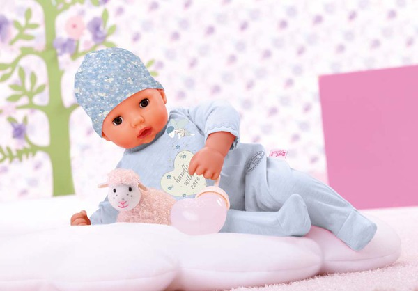 Кукла Baby Annabell мальчик. многофункциональная. 46 см. в коробке