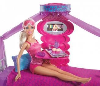Barbie. Набор Завтрак в постель. Кукла+Спальня