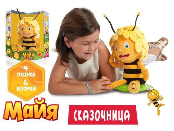 Пчелка Maya Сказочница интерактивная