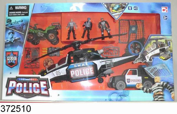 Набор Полиция против бандитов-3