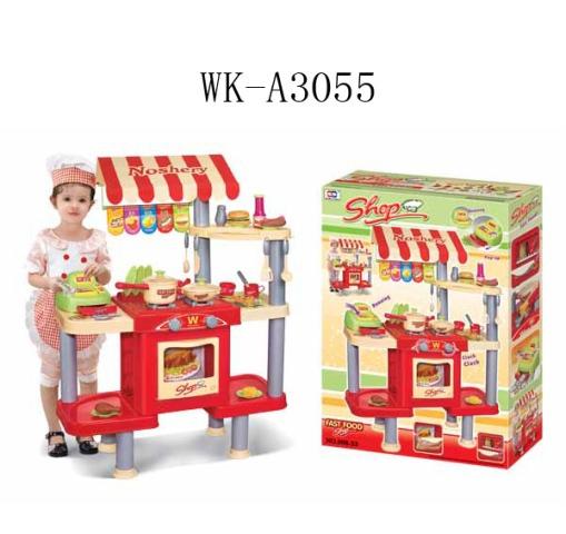 """Набор """"Ресторан Фаст Фуд"""". 99 предметов. в коробке. 61х44х9.5см"""