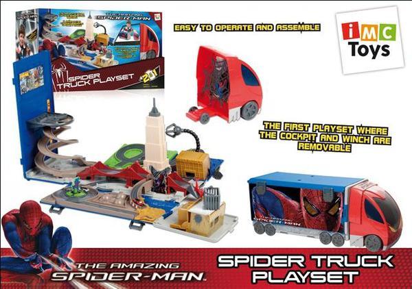 Грузовик SPIDER-MAN в коробке