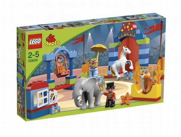 Конструктор LEGO DUPLO Большой цирк
