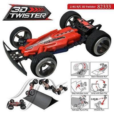 Машинка Twister 3D на р/у с рампой