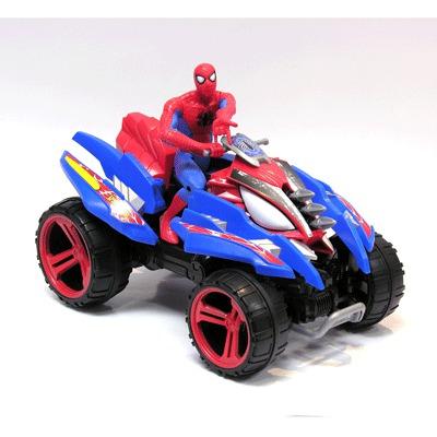 Человек-паук на квадроцикле