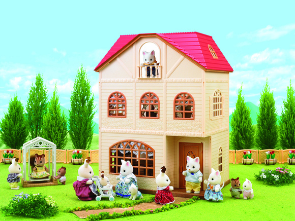 """Набор Sylvanian Families """"Трехэтажный дом"""""""