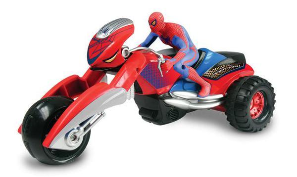 DER-MAN. Человек паук на мотоцикле