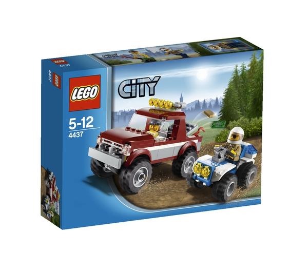 Конструктор LEGO CITY Полицейская погоня