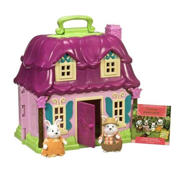 Lil Woodzeez. Загородный домик в наборе с 2 героями, пластмасса