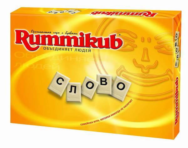 Игра Rummikub с буквами