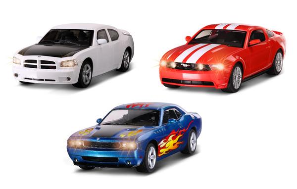 Машина Р/у Ford 1:16. 3 вида. пласт.