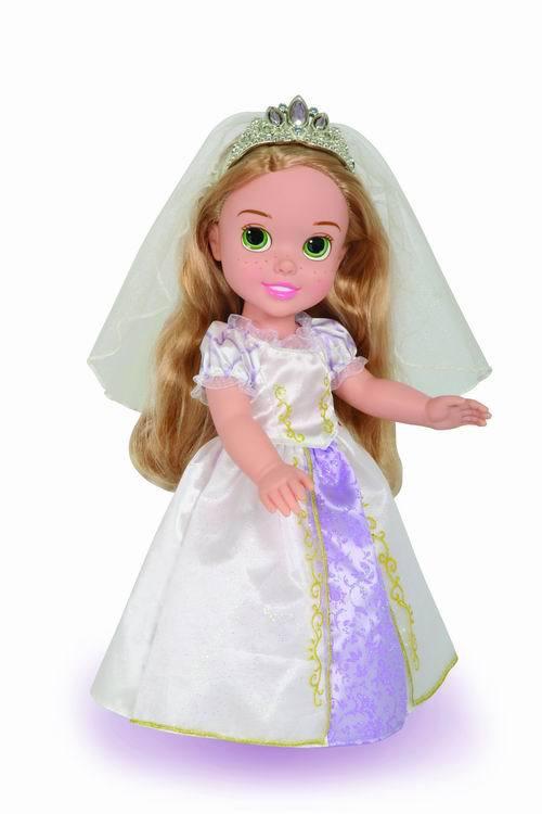 Кукла Disney Принцесса - Малышка Рапунцель в свадебном платье