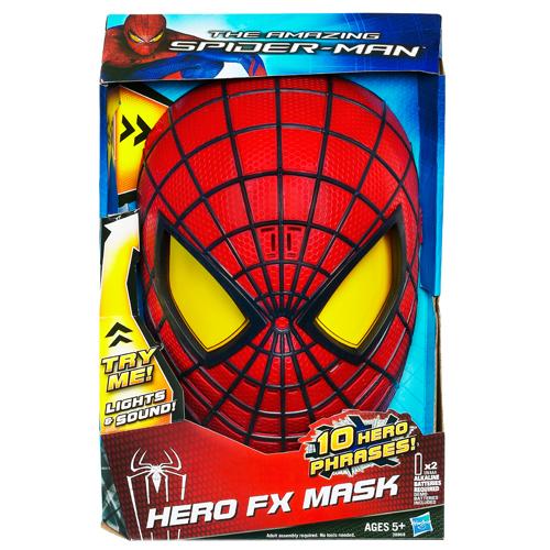 Маска электронная Человека-Паука