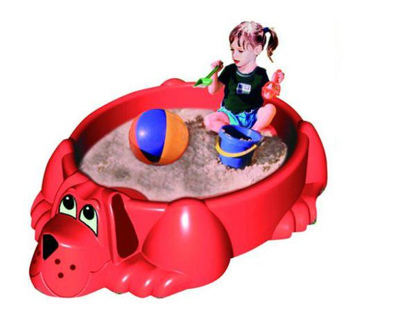 Песочница-бассейн Собачка
