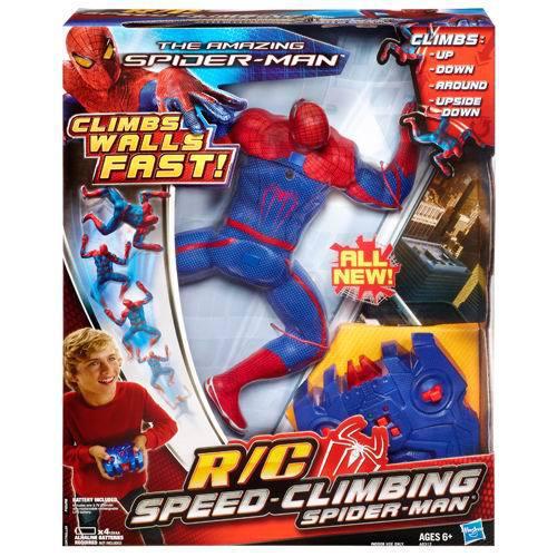 SPIDER-MAN. Фигурка. ползающая по стене