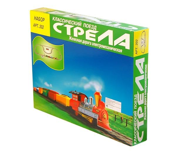 """Ж/д """"Классический поезд"""" 5.6 м"""