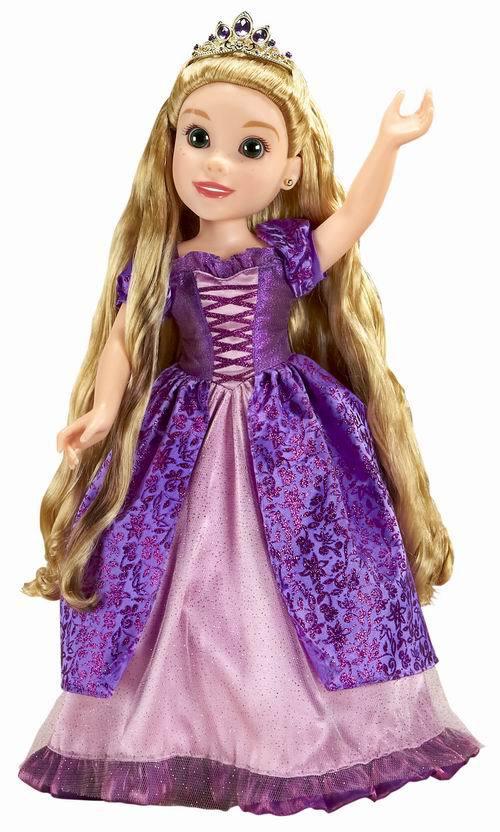 JAKKS PACIFIC. Кукла DeLuxe Disney Принцесса - Рапунцель