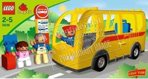 """Конструктор LEGO DUPLO Автобус"""""""